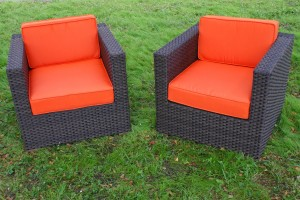 outdoor resin wicker furniture deck arm chair