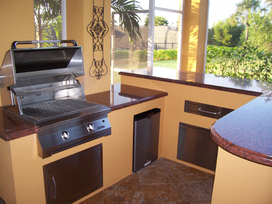 custom outdoor kitchen design image for built in bbq grill island