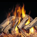 western campfyre vented gas log fireplace