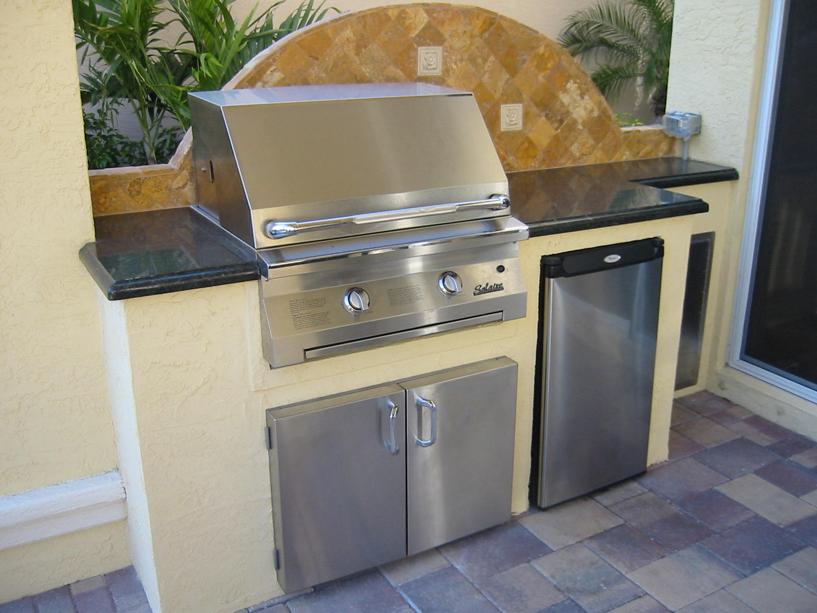 Com More Custom Outdoor Kitchen Built In Bbq Grill Island Images
