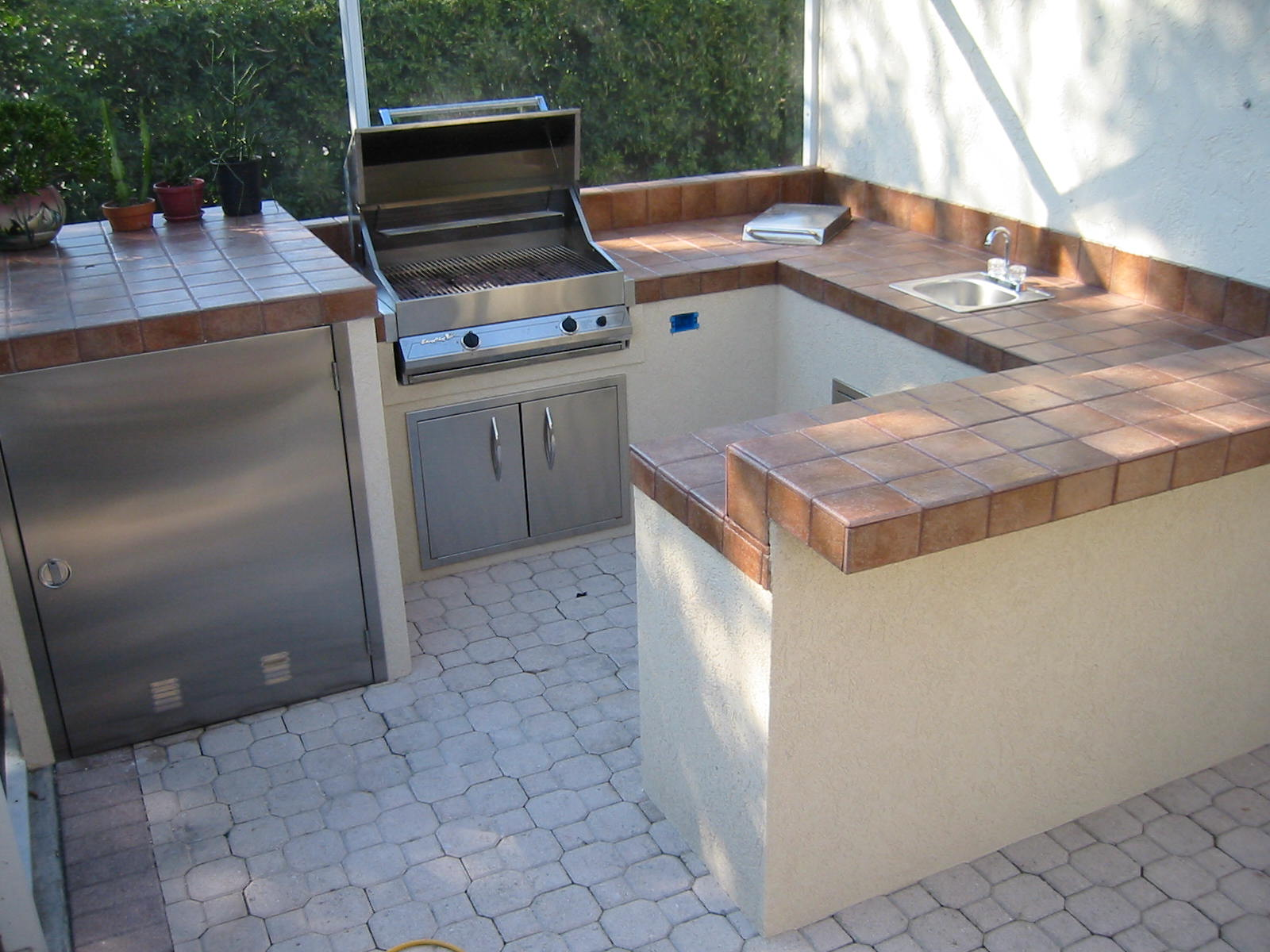 More Custom Outdoor Kitchen Built In Bbq Grill Island Images